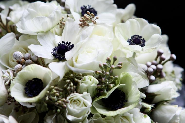 winter bridal bouquet - two little birds planning