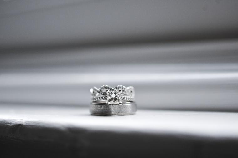wedding rings - two little birds planning