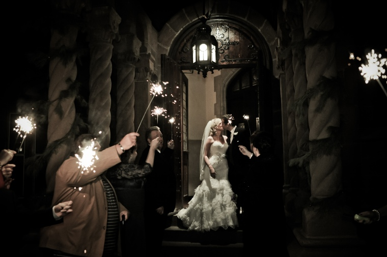 new years eve wedding sparklers - two little birds planning
