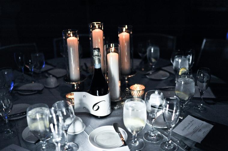 candle wedding centerpiece - two little birds planning