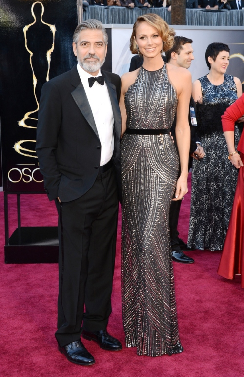 stacy keibler oscar 2013 - two little birds planning
